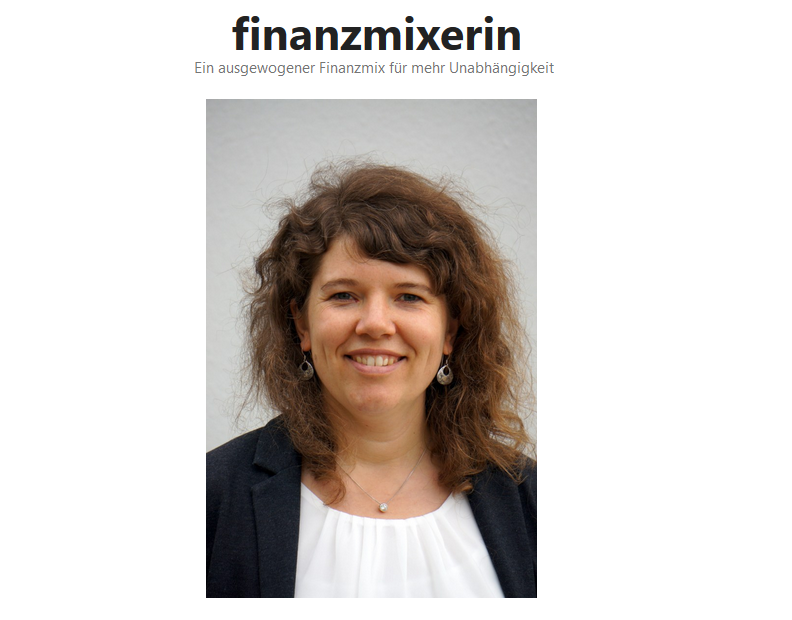 Finanzmixerin Image